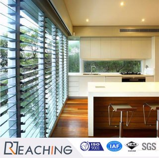 Shutter Glass Winodw for Kitchen with Polishing