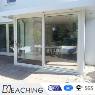 Guangzhou Sliding Window Supplier with Double Glass Industry Product